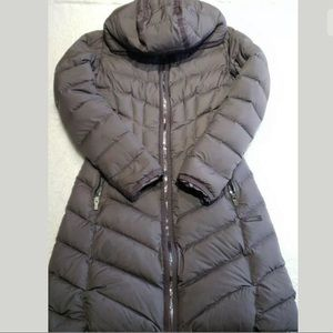 Athleta Women's XXS Goose Down Winter Coat Brown
